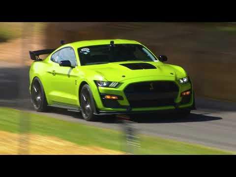 The Mustang GT500 at Goodwood Festival of Speed 2019 - Vaughn Gittin Jr.