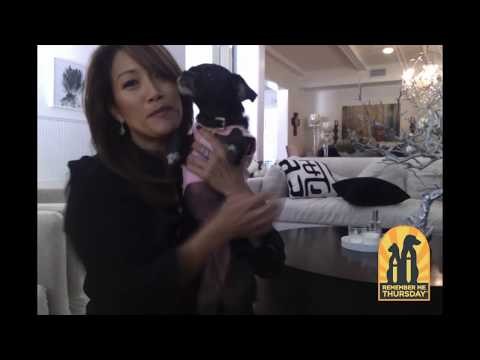 Remember Me Thursday Luminary, Carrie Anne Inaba