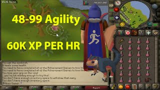 [PATCHED] OSRS- New Fast Agility Method Guide - 60K XP PER HOUR - Runescape 2007