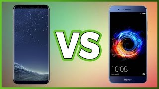 Samsung Galaxy S8 VS Honor 8 Pro!