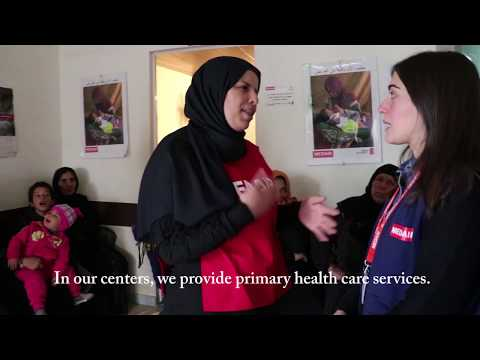 Providing health care to Syrian refugees in Lebanon