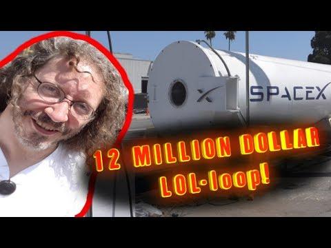 Thunderf00t at the 12 million dollar HYPERLOOP!