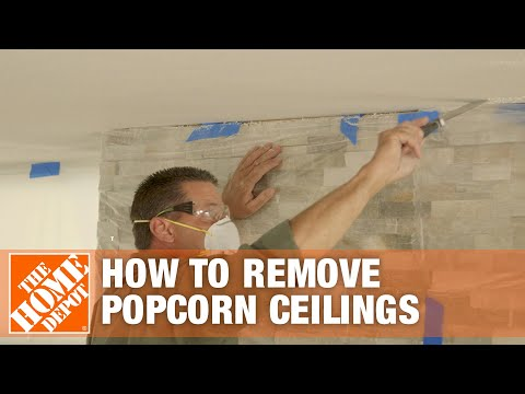 how-to-remove-popcorn-ceilings-|-the-home-depot