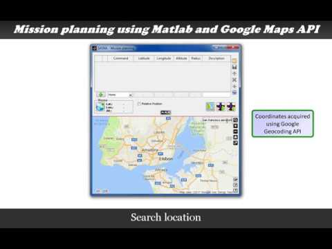 Google Maps API use on Matlab