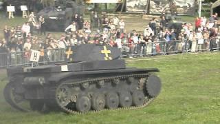 Panzer II , inscenizacja Gdańsk 2.09.2011 r.