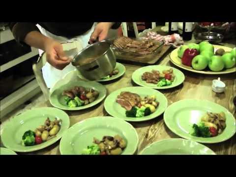 Emmanuel Giacosa Home Cooking at Lou Marronie, Cotignac