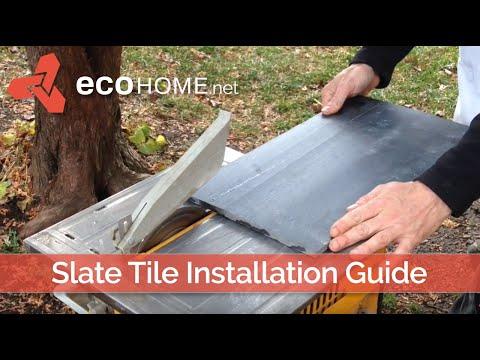 Slate Tile Installation