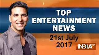 Top Entertainment News | 21st July, 2017 | 05:00 PM - India TV