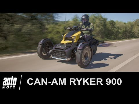 Can-Am RYKER 900 Rally ESSAI POV Auto-Moto