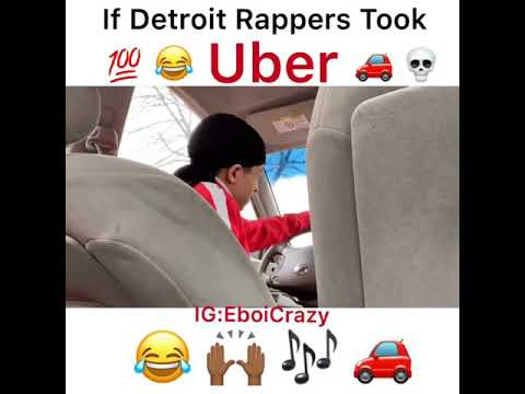 If Detroit Rappers Took Uber