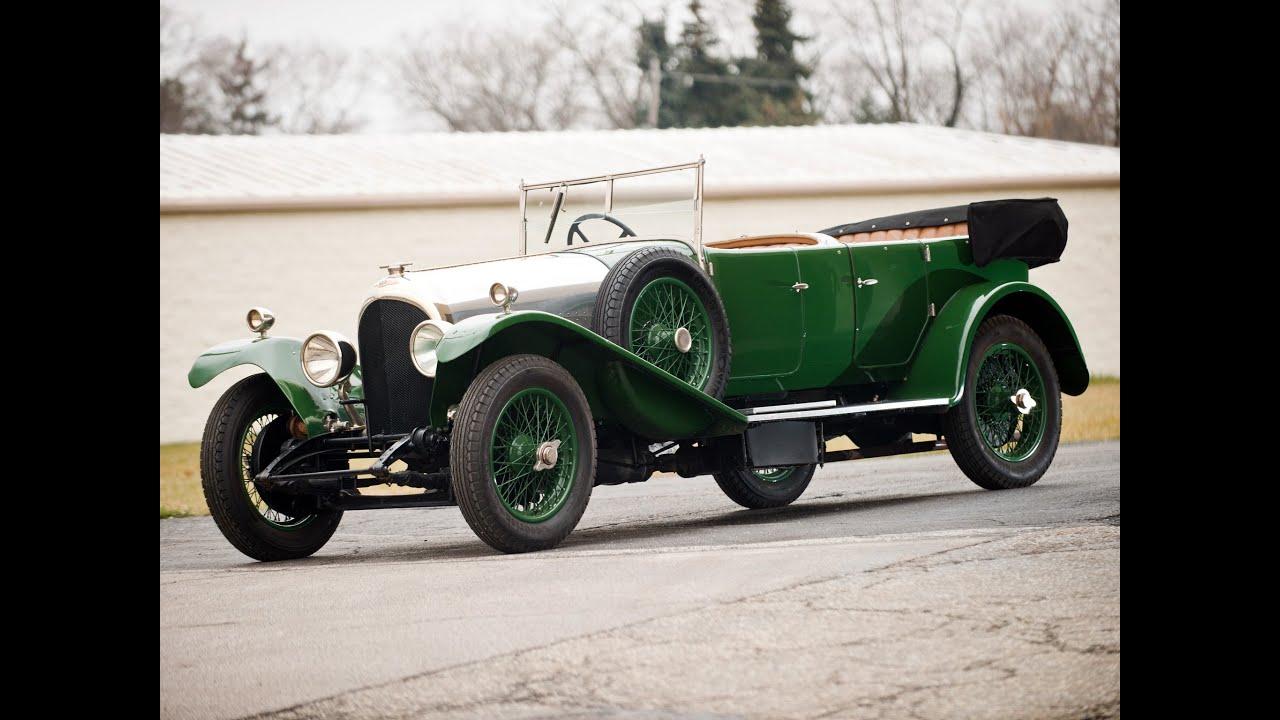 1925 Bentley 3-Litre Tourer by Gurney Nutting $231,000 SOLD! - YouTube