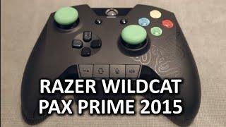 Razer Wildcat Xbox One Controller - PAX Prime 2015