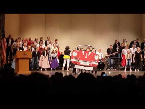Naches choir Songfest  (Grease) capital theatre.