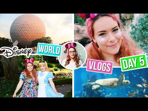Disney World Vlog 8- Meeting Alice in Wonderland at EPCOT