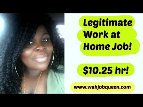Work at Home Jobs | Legitimate Work From Home Jobs!