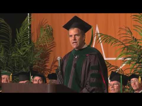 Scott E. Parazynski, MD Commencement Address