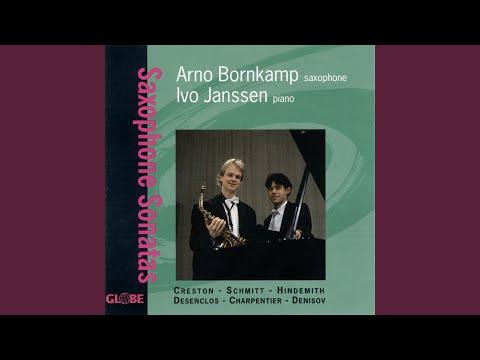 Saxophone Sonata, Op. 19: I. With Vigor
