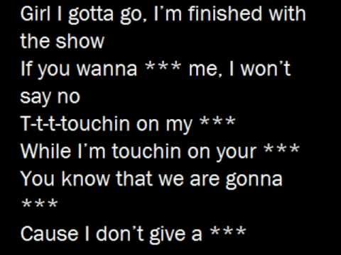 Touchin on my - 3OH!3 (with lyrics on screen)