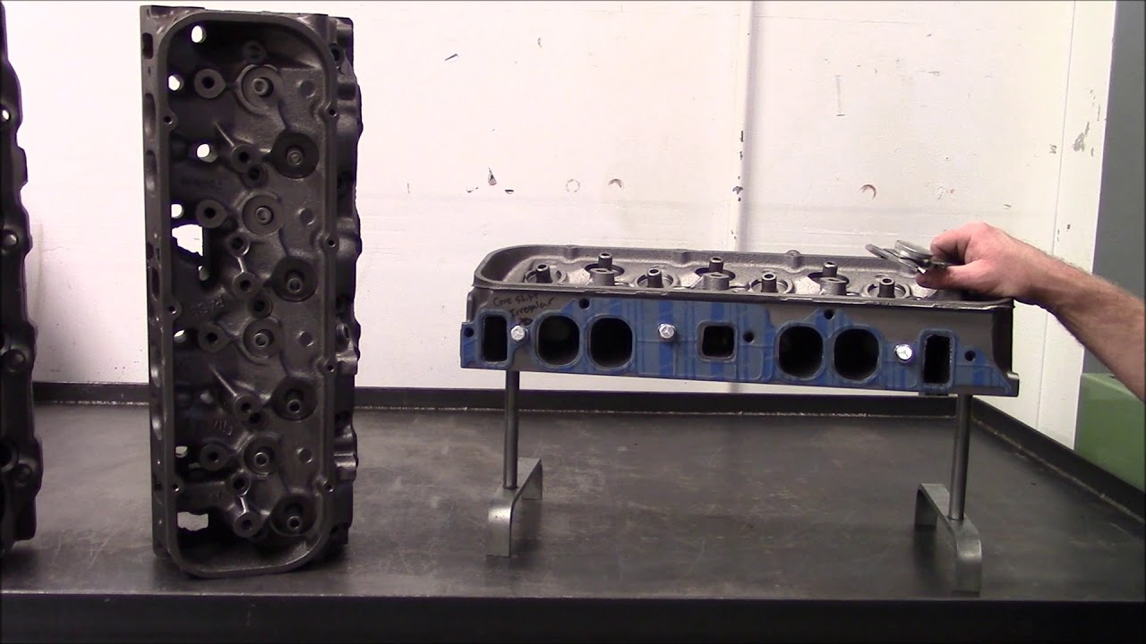 Engine Build 620 HP 454 Big Block Chevy Part 3 Oval Port Head Core  Selection Before Porting
