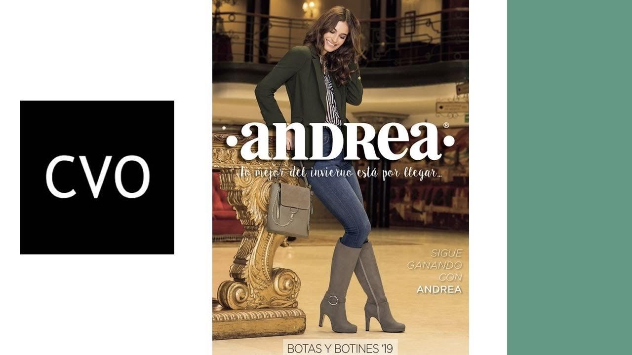 Catálogo Andrea De Botas Y Botines 2019 Completo