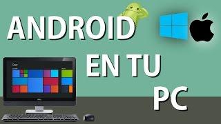 CÓMO TENER ANDROID EN TU PC/MAC | EL MEJOR EMULADOR | Hi Tech