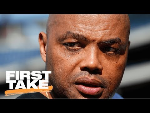 Charles Barkley Calling Kyrie Irving Trade Request 'Stupid'   First Take   ESPN