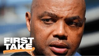 Charles Barkley Calling Kyrie Irving Trade Request 'Stupid' | First Take | ESPN