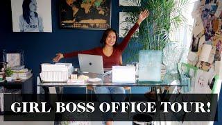 Home Office Tour #GirlBoss | Laureen Uy