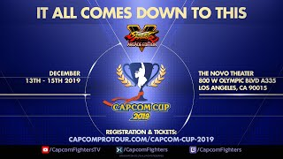 Capcom Cup 2019 - Day 1