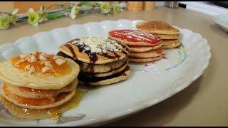 Συνταγή για πανεύκολα pancakes! // Pancakes recipe!
