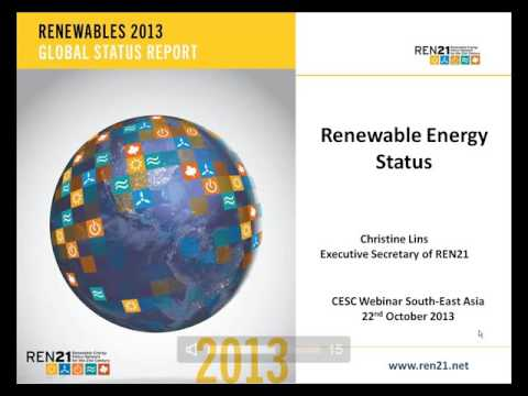 REN21 2013 Renewables Global Status Report: Focus on Southeast Asia