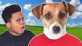 DAD TURNS INTO A DOG! - Onyx Family