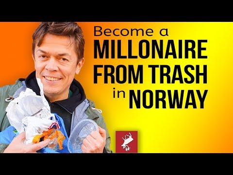 Become a Millionaire By Picking Trash In Norway