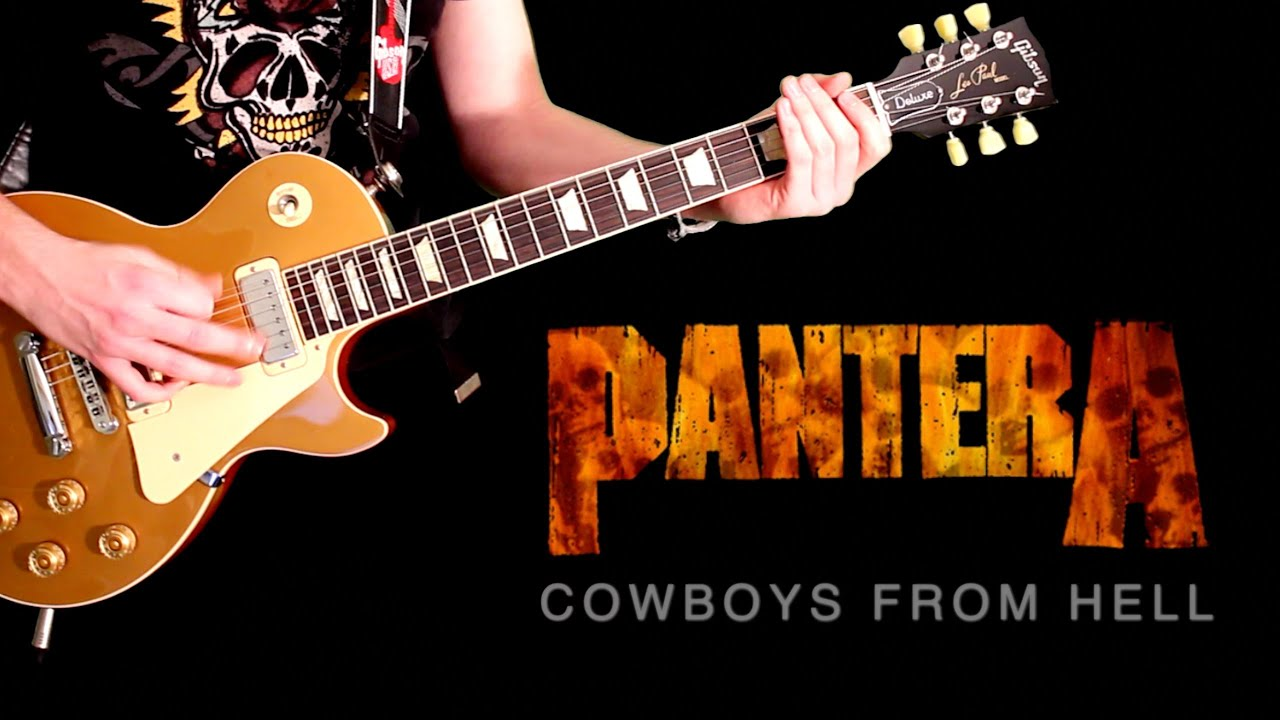 cowboys from hell by pantera full instrumental cover