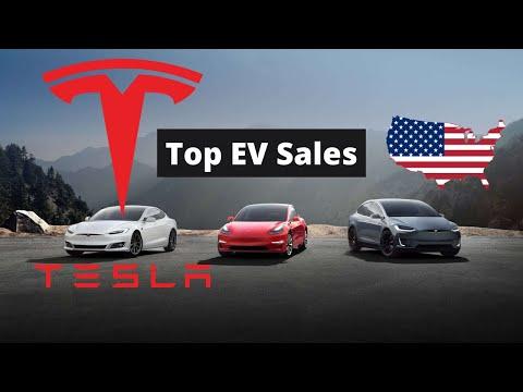 U.S Plug In Electric Vehicle (EV) Sales By Model | Tesla Model 3: Eat My Dust!