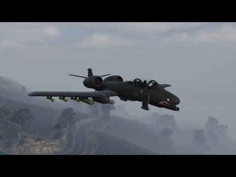 GTA Online: B-11 Strikeforce Review (A-10 Warthog) German