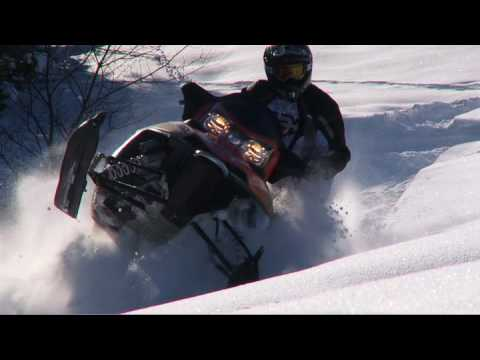 SnowTrax Tests 2010 Polaris 800 Dragon Switchback