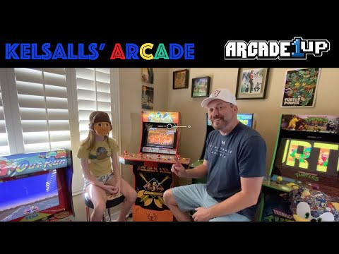 Arcade1up Golden Axe Death Adders Revenge Extended Review and Gameplay from Kelsalls Arcade