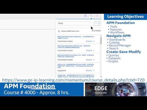 APM Training; Foundations