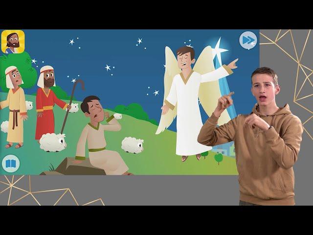 Weihnachtsgeschichte in Gebärdensprache