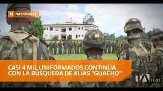Militares de Colombia reconocen que Guacho no está bajo su control - Teleamazonas