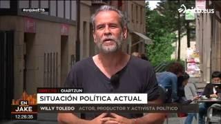 Willy Toledo, sobre Unidos-Podemos