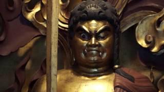 神護山(じんごさん)青龍寺、長原静龍住職