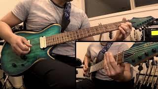 Ihsahn - Until I too Dissolve ( guitar cover)