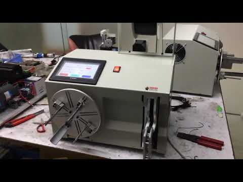 Automatic wire coiling and binding machine WPM-212
