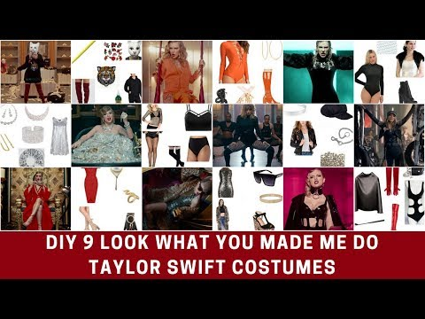 9 Taylor Swift Look What You Made Me Do Halloween Costume DIYs