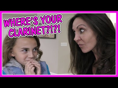 DID KAYLA LOSE HER CLARINET? | We Are The Davises