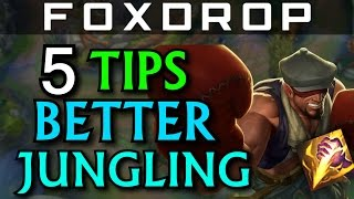 5 Tips for Being a Better Jungler and Lee Sin - League of Legends