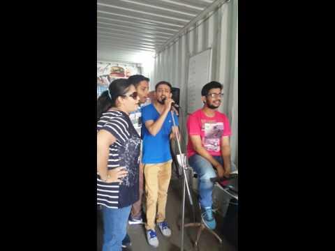 Karaoke at F9 go karting Gurgaon