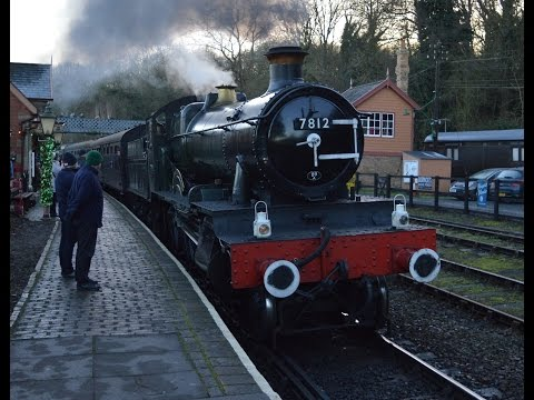 Severn Valley Railway Festive Timetable Monday 2nd January 2017